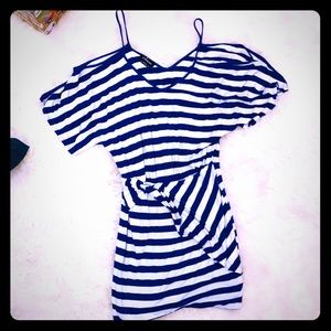 BEBE Striped Casual sexy and cute  Dress